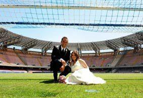Matrimonio civile allo stadio Marassi