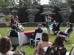 Matrimonio nell'anfiteatro romano di Luni